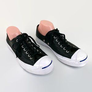 Converse Jack Purcell Perforated Leather Sneaker